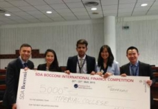 SDA Bocconi International Finance Competition